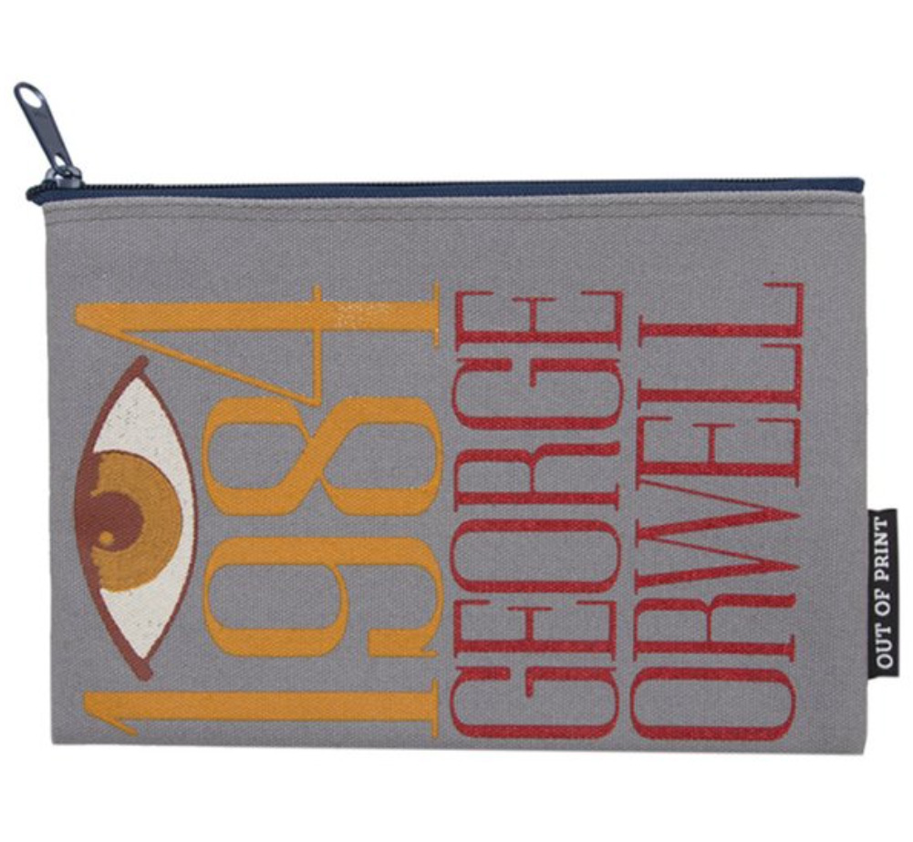 【Out of Print】 George Orwell / 1984 Pouch 3