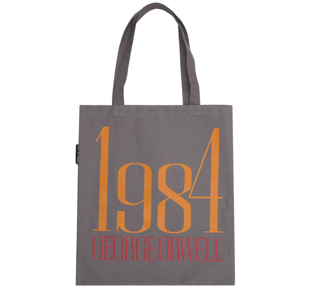 【Out of Print】 George Orwell / 1984 Tote Bag