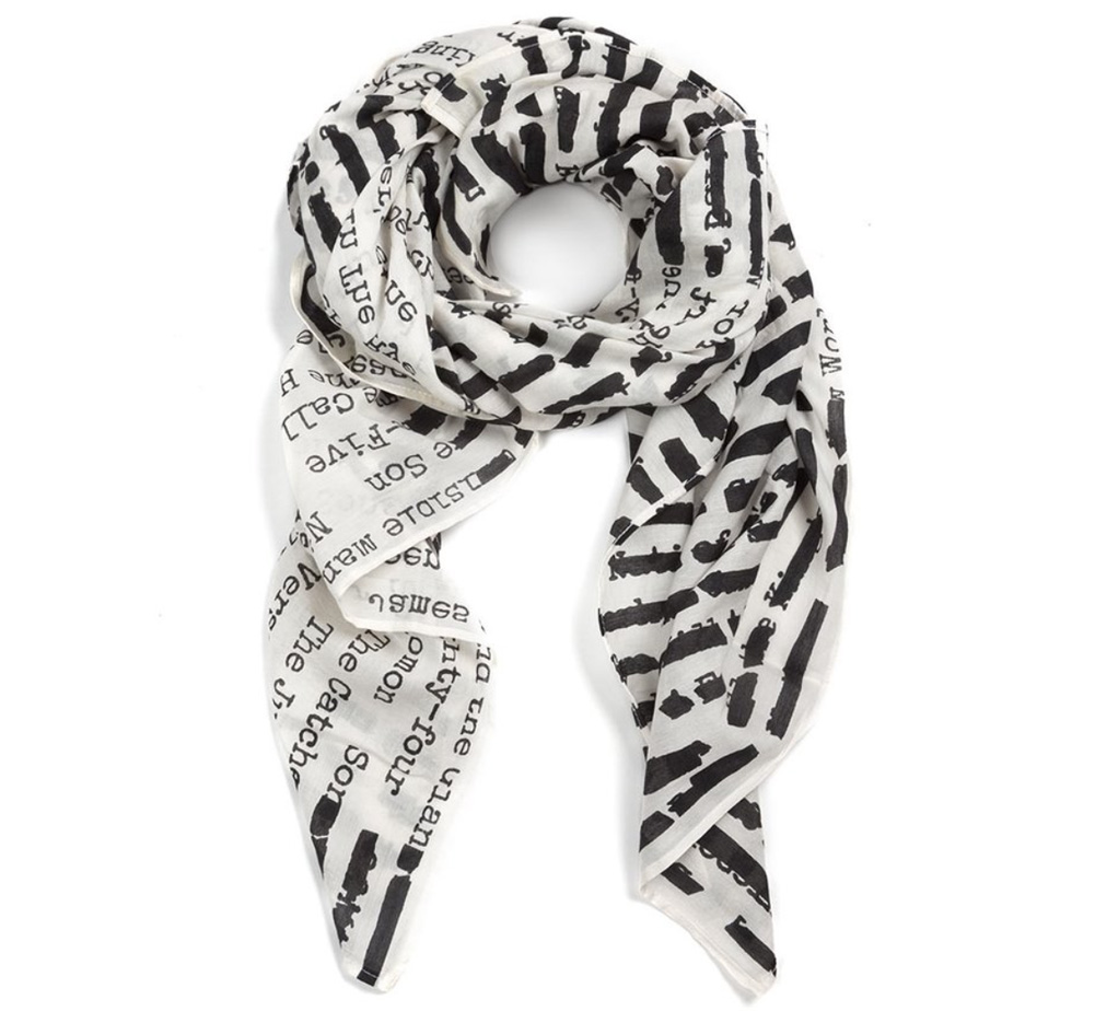 【Out of Print】 Banned Books Lightweight Scarf