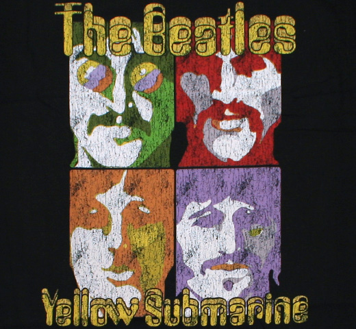 The Beatles / Yellow Submarine Sea of Science Tee (Black)