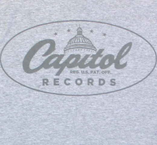 Capitol Records / Oval Logo Tee (Grey)
