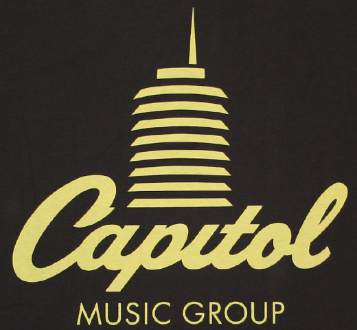 Capitol Music Group / Logo Tee (Black)