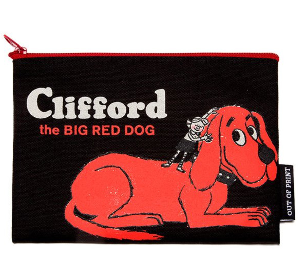 【Out of Print】 Norman Bridwell / Clifford the Big Red Dog Pouch