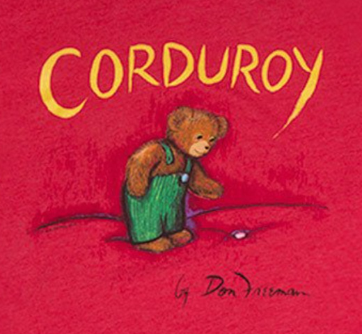 【Out of Print】 Don Freeman / Corduroy Tee (Red)