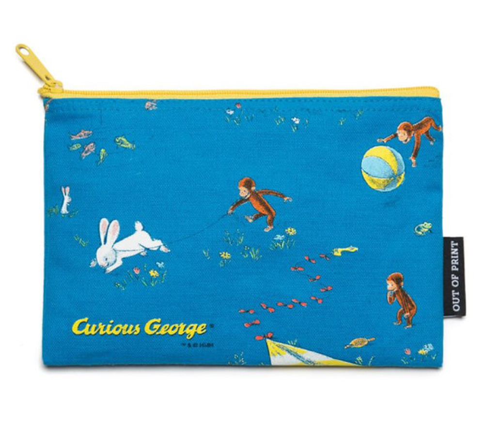 【Out of Print】 H. A. Rey and Margret Rey / Curious George Pouch