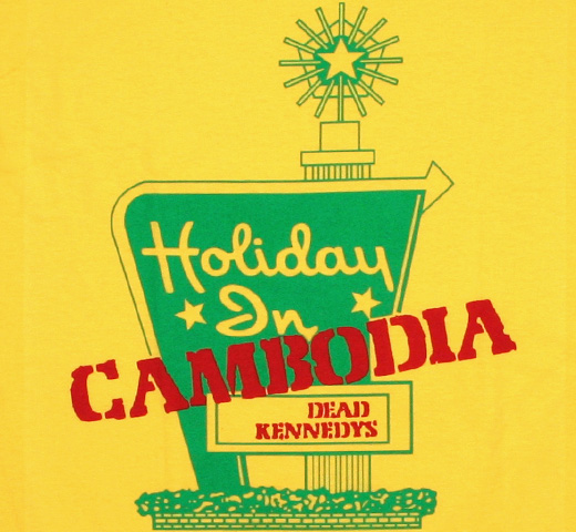 Dead Kennedys / Holiday in Cambodia Tee 2 (Yellow)