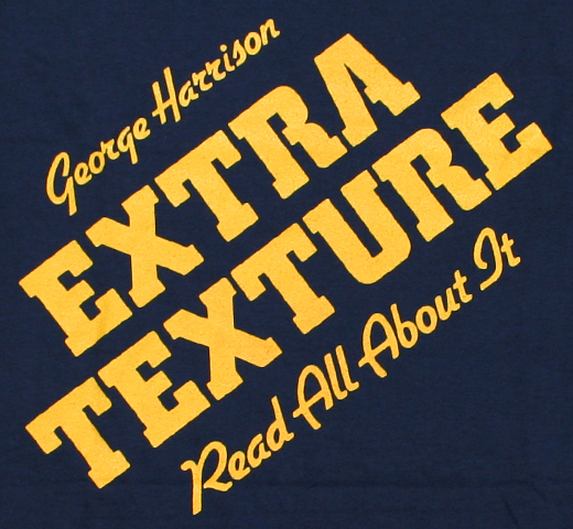 George Harrison / Extra Texture (Read All About It) Tee  (Dark Navy)