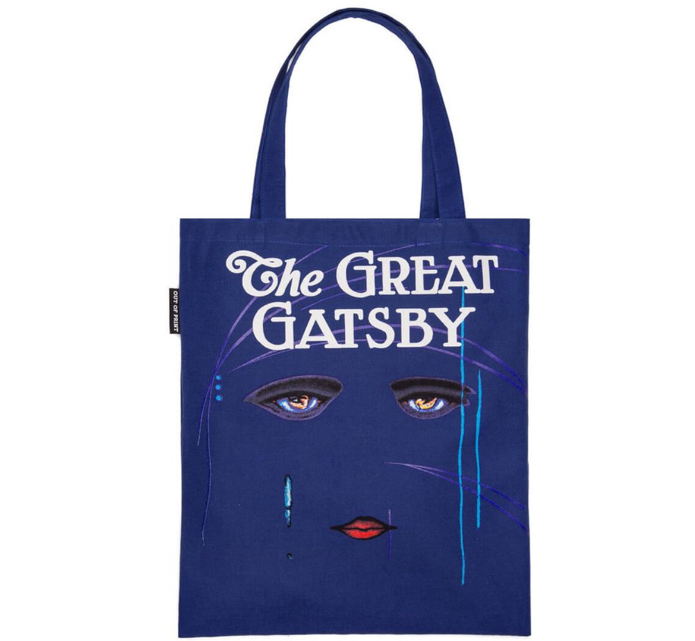【Out of Print】 F. Scott Fitzgerald / The Great Gatsby Tote Bag