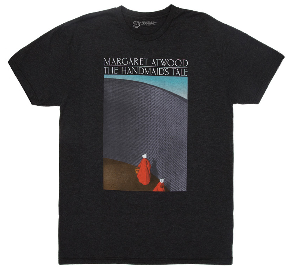 【Out of Print】 Margaret Atwood / The Handmaid's Tale Tee (Black) (5月入荷予定、予約受付中)