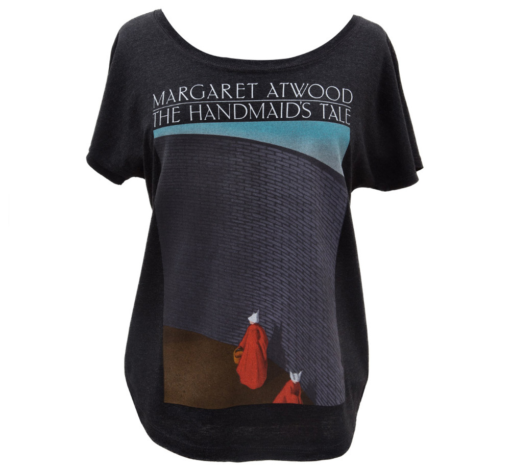 【Out of Print】 Margaret Atwood / The Handmaid's Tale Dolman Tee (Black) (Womens) (5月入荷予定、予約受付中)