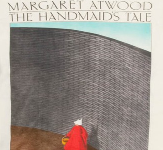 【Out of Print】 Margaret Atwood / The Handmaid's Tale Tee (Natural) (Womens)