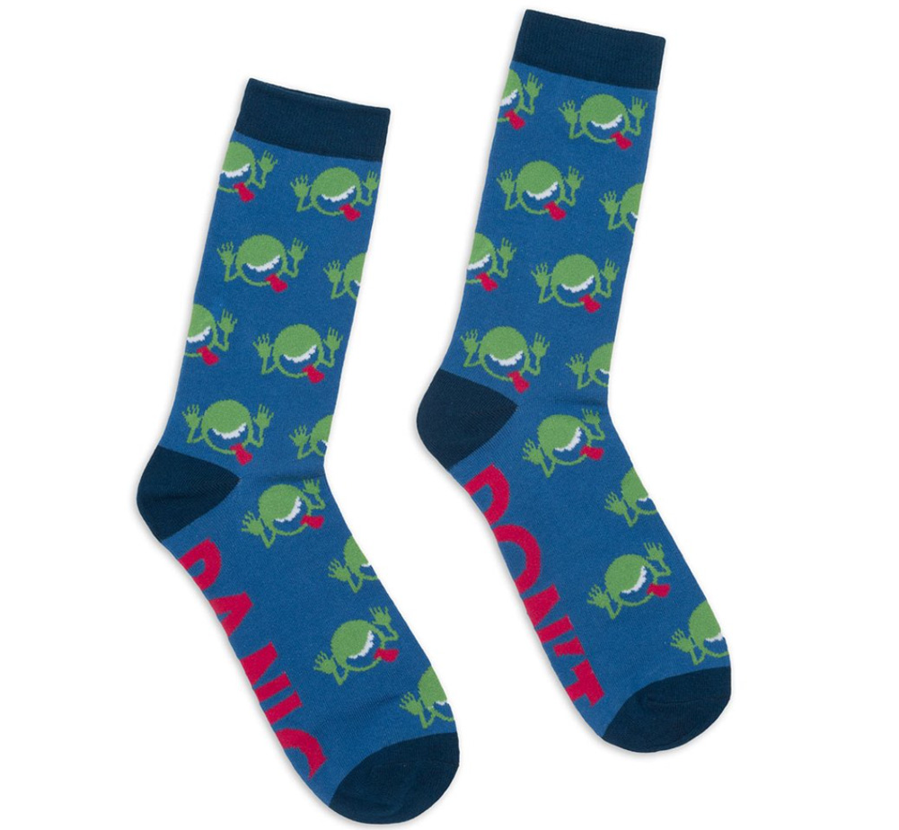 【Out of Print】 Douglas Adams / The Hitchhiker's Guide to the Galaxy Socks