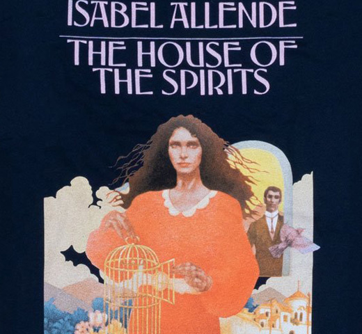 [Out of Print] Isabel Allende / The House of the Spirits Tee (Midnight Navy)