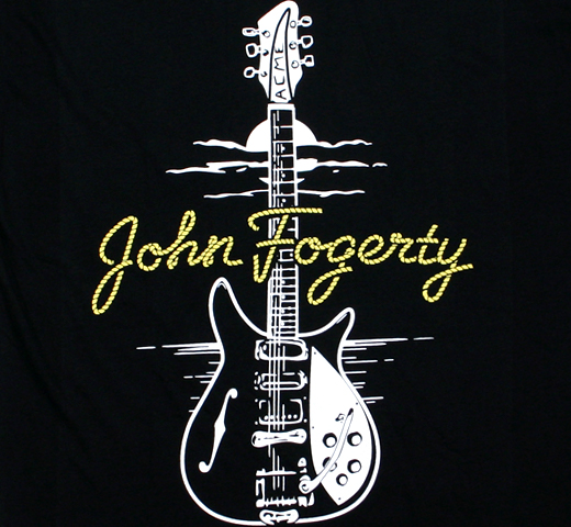 John Fogerty / Rickenbacker 325 Tee (Black)