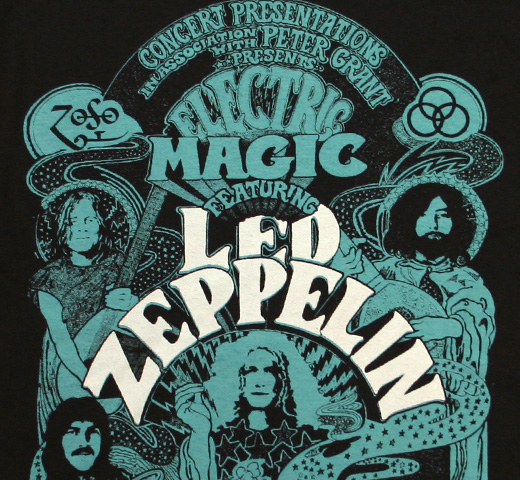 Led Zeppelin / Electric Magic Tee (Black)