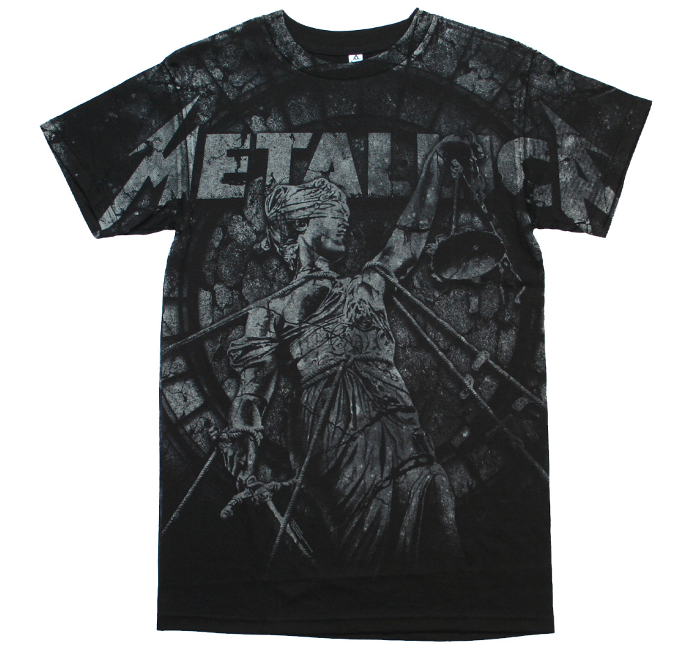 Metallica / ...And Justice For All All Over Tee (Black)