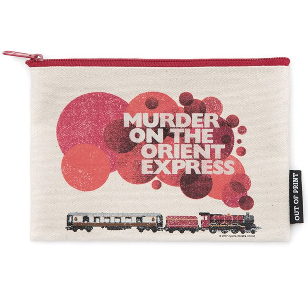 【Out of Print】 Agatha Christie / Murder on the Orient Express Pouch