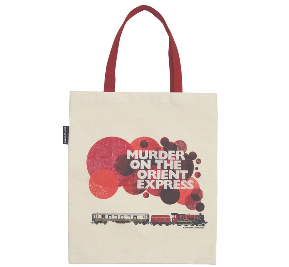 【Out of Print】 Agatha Christie / Murder on the Orient Express Tote Bag