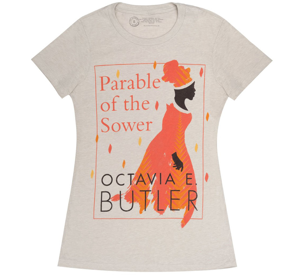 [Out of Print] Octavia E. Butler / Parable of the Sower Womens Tee (Sand)