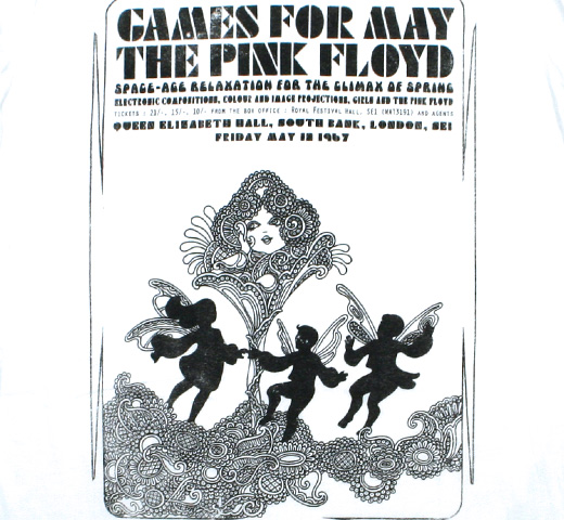 Pink Floyd / Games for May Tee (White)