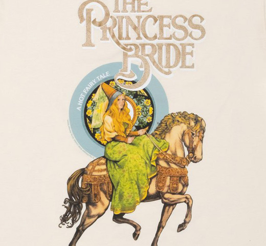 [Out of Print] William Goldman / The Princess Bride Ringer Tee (Natural)