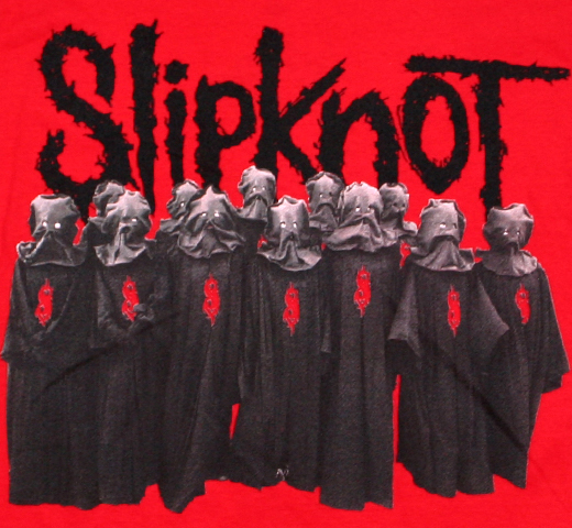 SlipKnoT / Unsainted Tee (Red)