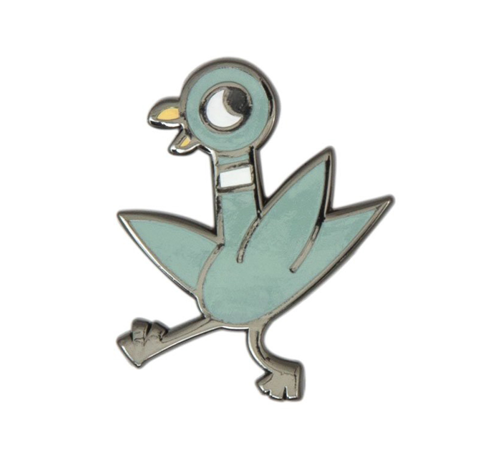 [Out of Print] Mo Willems / The Pigeon Enamel Pin